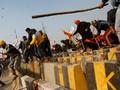 FOTO: Ribuan Petani India Demo saat Rayakan Hari Kemerdekaan