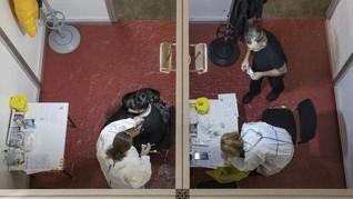 FOTO: Serbia Negara Eropa Pertama Pakai Vaksin China