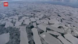 VIDEO: Es di Greenland Cair Lebih Cepat dari Perkiraan