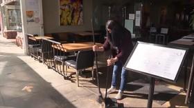 VIDEO: Kasus Covid-19 Tinggi, California Longgarkan Lockdown