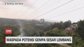 VIDEO: Waspada Potensi Gempa Sesar Lembang