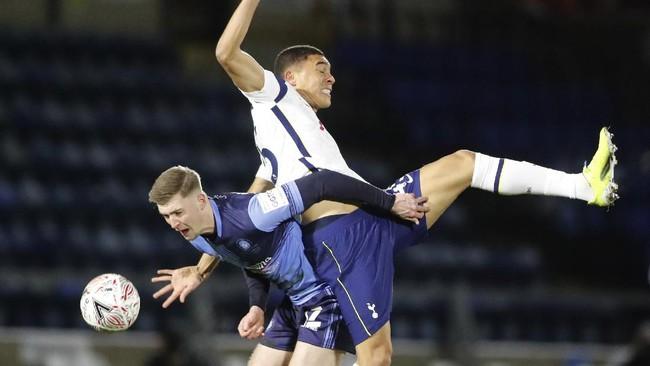 Tottenham Hotspur mengamuk di pengujung laga dan sukses mengalahkan Wycombe Wanderers dengan skor 4-1 di Piala FA.