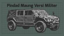 INFOGRAFIS: Spesifikasi Pindad Maung Versi Militer