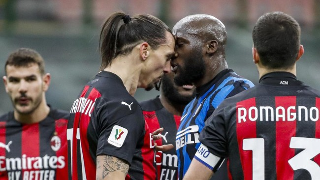 Kronologi Perkelahian Lukaku-Ibrahimovic di Inter vs Milan