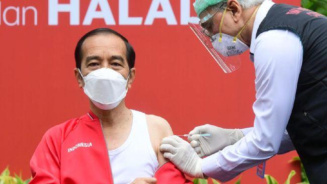 Netizen menggunakan NIK Jokowi untuk mengakses aplikasi PeduliLindungi, sebagian lainnya mengunggah kartu vaksin Jokowi meski mengandung data pribadi.