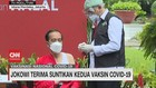 VIDEO: Jokowi Terima Suntikan Kedua Vaksin Covid-19