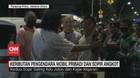 VIDEO: Keributan Pengendara Mobil Pribadi dan Sopir Angkot