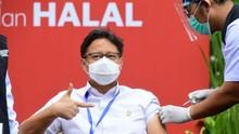 Menkes: Vaksinasi 1 Juta Orang Sehari Perlu Bantuan Swasta