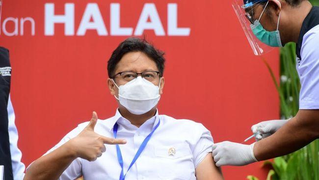 Menurut Menkes Budi Gunadi Sadikin ada dua kemungkinan kasus mutasi virus corona asal Inggris baru masuk ke Indonesia.