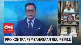 VIDEO: Pro Kontra Pembahasan RUU Pemilu