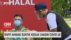 VIDEO: Raffi Ahmad Suntik Kedua Vaksin Covid-19