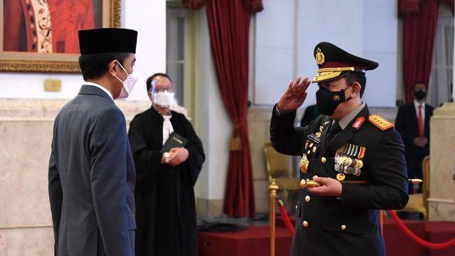 Kapolri Jenderal Listyo Sigit Prabowo mendapat restu dari Jokowi untuk merekrut Novel Baswedan dan para pegawai KPK yang tak lolos TWK.