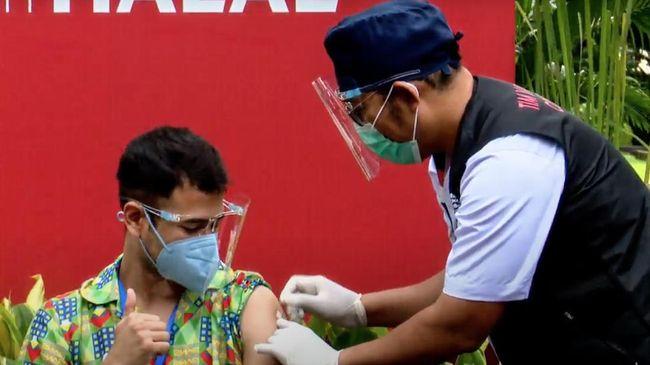 Satgas Covid menyebut Raffi Ahmad janji disiplin prokes usai menerima suntikan vaksin dosis kedua.