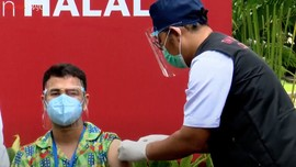 Raffi Ahmad soal Efek Vaksin: Ngantuk Sedikit dan Pegal