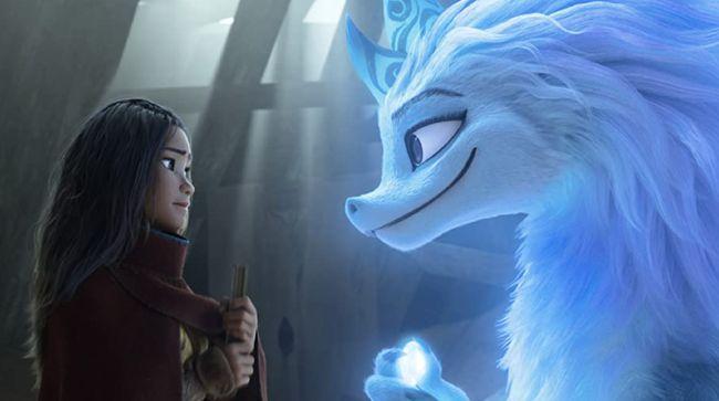 Seekor naga terlihat berubah menjadi manusia dalam trailer baru film animasi produksi Disney, Raya and the Last Dragon, yang diunggah pada Selasa (26/1).