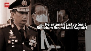 VIDEO: Jejak Jabatan Listyo Sigit Sebelum Jadi Kapolri
