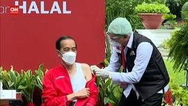 VIDEO: Vaksinator Presiden: Jokowi Disuntik Vaksin Sinovac