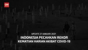VIDEO: Angka Kematian Covid di Indonesia Pecah Rekor