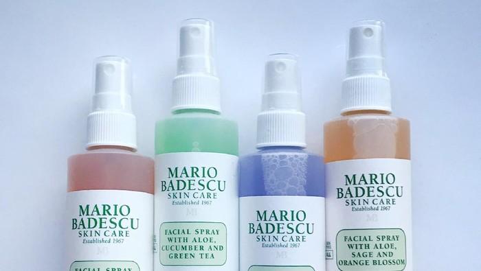 4 Varian Facial Spray dari Mario Badescu, Pilih yang Paling Pas Buat Kulitmu!