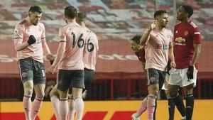 FOTO: Man Utd Terkapar Dihajar Tim Juru Kunci