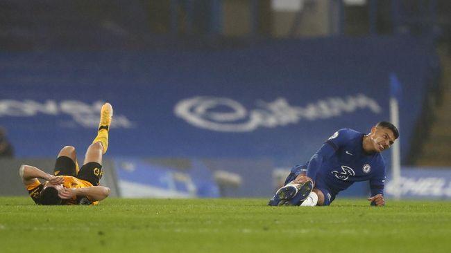 Thomas Tuchel gagal mencatatakan debut berupa kemenangan dalam laga Chelsea vs Wolverhampton yang berakhir imbang.
