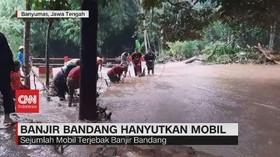 VIDEO: Hujan Deras di Banyumas Picu Banjir dan Longsor
