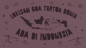 INFOGRAFIS: 4 Lukisan Gua Tertua Dunia yang Ada di Indonesia