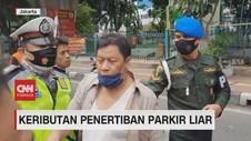 VIDEO: Keributan Penertiban Parkir Liar