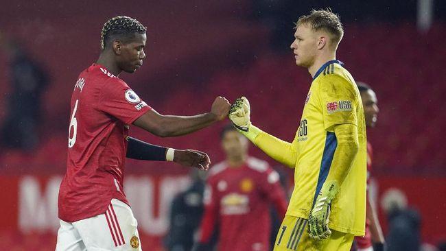 Sheffield United secara mengejutkan mampu menghentikan catatan tak terkalahkan Manchester United di angka 13 pertandingan.