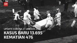 VIDEO: Angka Kematian Covid Pecah Rekor
