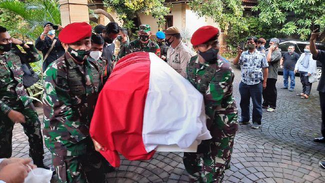 Eks KSAD Wismoyo Arismunandar akan dimakamkan di Astana Giribangun, Kabupaten Karanganyar, Jawa Tengah.