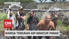 VIDEO: Warga Temukan Air Mancur Panas