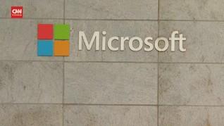 Saham Microsoft Jatuh Usai Bill Gates Ceraikan Melinda