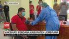 VIDEO: Vaksinasi Perdana Kabupaten Jembrana