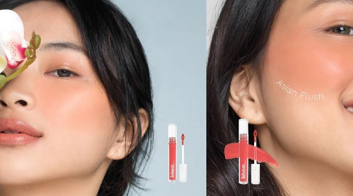 Mad for Makeup BLOOM All Day Hydrating Gel Blush+Serum: Skincare dan Makeup dalam Satu Produk