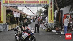FOTO: Kampung Tangguh Jakarta Melawan Covid-19
