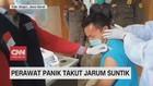 VIDEO: Perawat Panik Takut Jarum Suntik, Tips Mengatasinya!