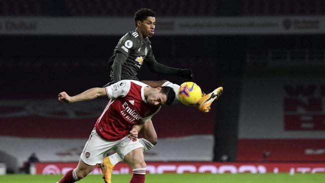 Hasil Liga Inggris Arsenal Vs Man Utd Seri