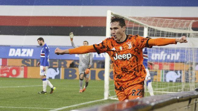 Juventus dikabarkan telah menolak mentah-mentah tawaran besar Liverpool untuk mendapatkan tanda tangan Federico Chiesa.