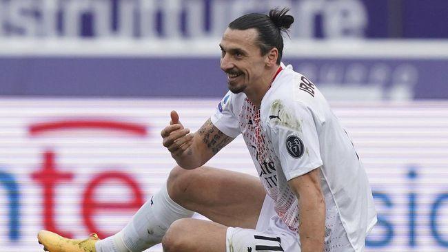 Penyerang AC Milan, Zlatan Ibrahimovic meyakini Ronaldo Nazario adalah pesepak bola terbaik yang pernah ada.