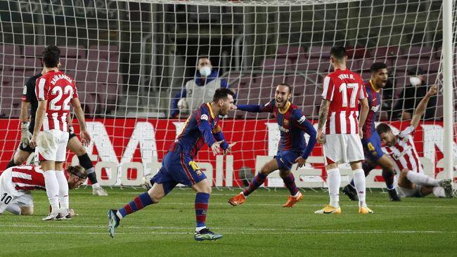 Tujuh fakta menarik menjelang laga final Copa Del Rey antara Athletic Bilbao vs Barcelona, Minggu (18/4) dini hari WIB.