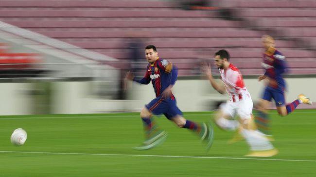 Laga final Copa del Rey akan mempertemukan duel Barcelona vs Athletic Bilbao. Berikut jadwal laga tersebut.