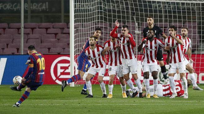 Prediksi laga final Copa Del Rey antara Athletic Bilbao vs Barcelona di Stadion La Cartuja, Sevilla.