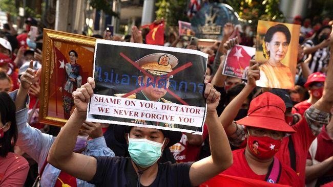 Lembaga advokasi HAM, Forum Asia, mendesak militer Myanmar segera membebaskan sejumlah anggota parlemen yang ditahan saat kudeta.