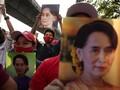 Myanmar Perpanjang Masa Tahanan Suu Kyi yang Dikudeta
