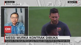 VIDEO: Messi Murka Kontrak Dibuka