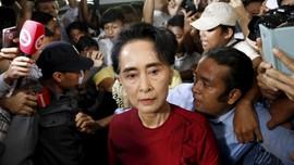 DK PBB Desak Militer Myanmar Bebaskan Aung San Suu Kyi