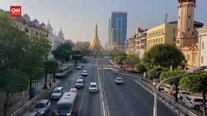 VIDEO: Melihat Suasana Kota Yangon Usai Penahanan Suu Kyi