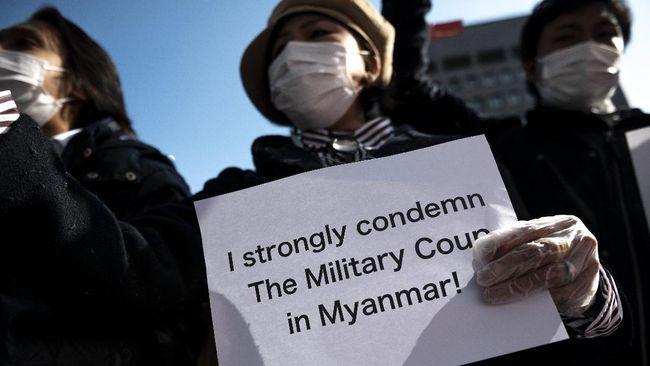 Jepang ingin setop bantuan untuk Myanmar hingga dokumen AS ungkap keterlibatan Putra Mahkota Saudi di pembunuhan Jamal Khashoggi, ramaikan berita internasional.