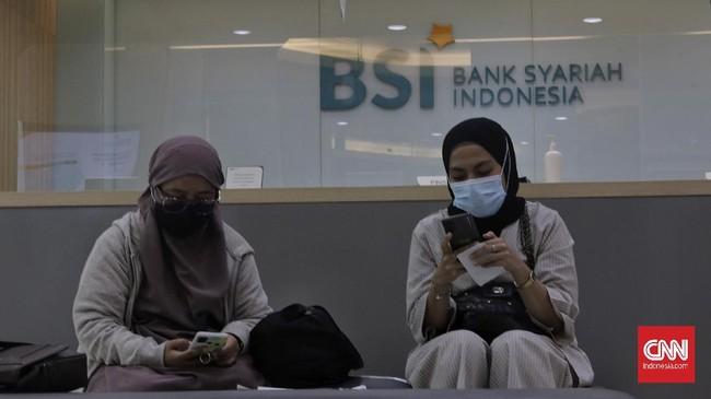 Bank Syariah Indonesia resmi beroperasi setelah diresmikan oleh Presiden Joko Widodo, Senin (2/2).
